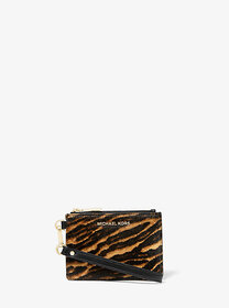Michael Kors Jet Set Small Mixed Animal-Print Calf