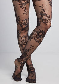 Taste for Lace Tights Black