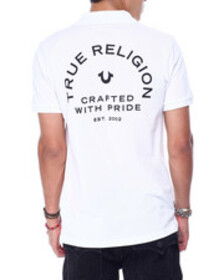 True Religion crafted w pride polo