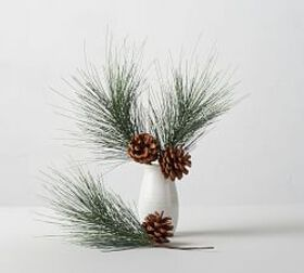 Pottery Barn Faux Evergreen & Pinecone Decorative  on sale at Pottery Barn