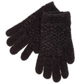 KIT Womens Textured Chenille Knit Gloves