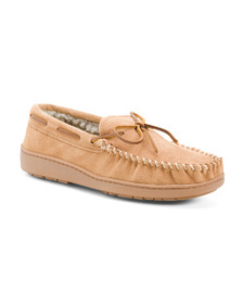 MINNETONKA Traditional Suede Trapper Slippers