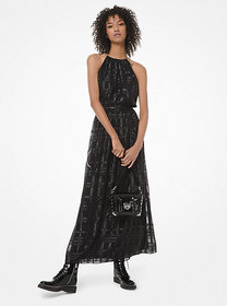 Michael Kors Plaid Jacquard Dress
