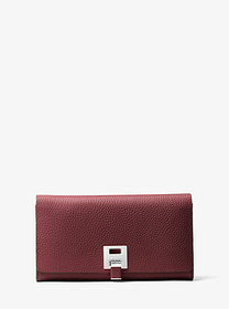Michael Kors Bancroft Pebbled Calf Leather Contine
