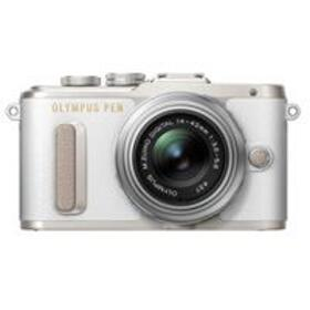 Olympus PEN E-PL8 Mirrorless with Silver 14-42mm I