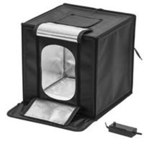 Glow LED Studio-Cube Portable Shooting Tent with D