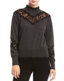 Bailey 44 - Flora Lace-Inset Sweater