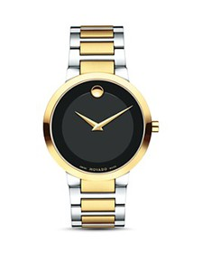 Movado - Modern Classic Two Tone Watch, 39.2mm