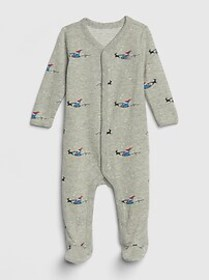Baby Brannan Bear Santa One-Piece