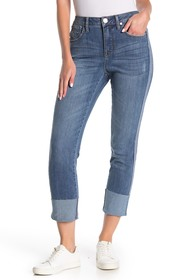 Seven7 High Rise Cuffed Tower Jeans