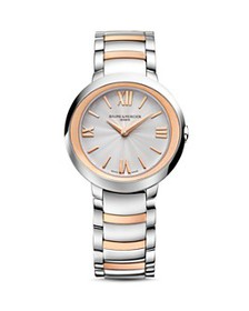 Baume & Mercier - Promesse Two Tone Watch, 30mm