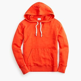 J. Crew Pullover hoodie in vintage cotton terry
