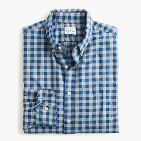 J. Crew Stretch Secret Wash shirt in organic cotto