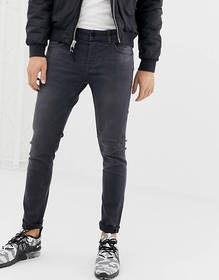 Only & Sons skinny fit jeans in gray wash