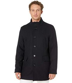 Cole Haan Wool Twill Jacket with Attached Bib