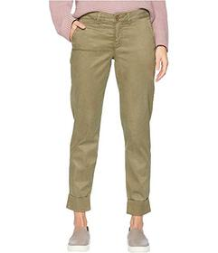 NYDJ Skinny Chino Ankle w\u002F Clean Cuff in Oliv