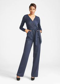 Tall Stretch Knit Jumpsuit