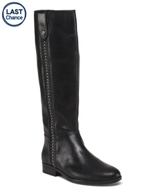 PATRICIA NASH High Shaft Studded Leather Boots