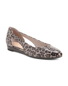EASY SPIRIT Evolve Comfort Patent Leather Flats