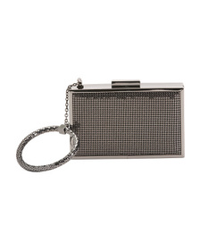 WHITING & DAVIS Scale Mail Bracelet Minaudiere Bag