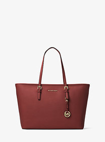 Michael Kors Jet Set Medium Saffiano Leather Top-Z