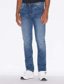 Armani FIVE-POCKET J13 SLIM-FIT DENIM JEANS