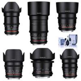 Rokinon Cine DS Lens Bundle for MIcro 4/3 14mm/24m