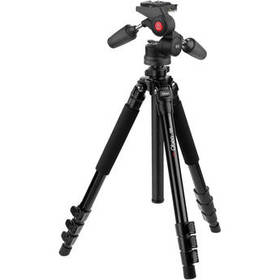 Oben AC-1451 4-Section Aluminum Tripod with PD-117