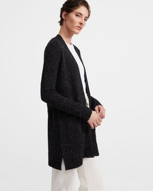 Open Front Belted Cardigan