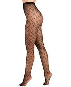 I.N.C. Women's Diamond-Fishnet Tights, Created For