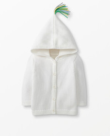 Hanna Andersson Hoodie Cardigan In Organic Cotton