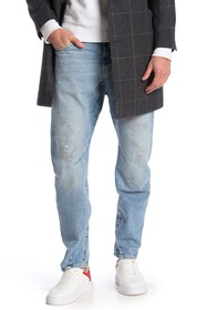 G-STAR RAW Arc 3D Distressed Tapered Jeans