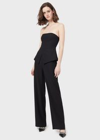 Armani Jumpsuit with bodice and basque