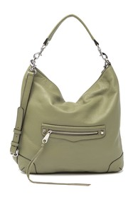 Rebecca Minkoff Slim Regan Leather Hobo Bag