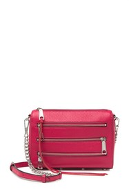 Rebecca Minkoff Mini 5 Zip Leather Crossbody Bag