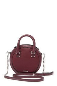 Rebecca Minkoff Bree Leather Circle Crossbody Bag