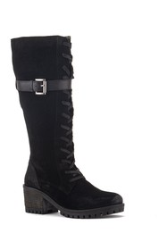 Vintage Foundry Naomi Suede Lace-Up Boot