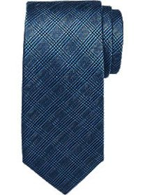 Tommy Hilfiger Blue Check Narrow Tie