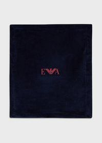Armani Chenille blanket with logo