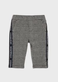 Armani Prince of Wales check trousers
