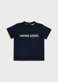 Armani T-shirt with logo patch