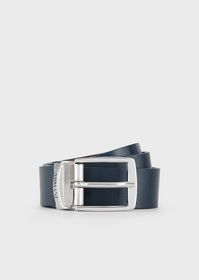Armani Reversible belt with logo buckle