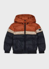 Armani Quilted down jacket in ripstop nylon