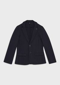 Armani College-style single-breasted jacket