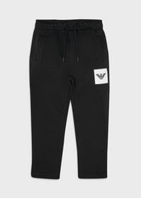 Armani Jogging trousers with logo patch