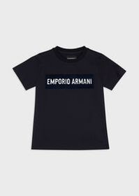 Armani T-shirt with maxi patch logo
