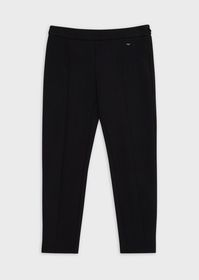Armani Slim-fit trousers with side zipper