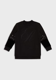 Armani Sweatshirt with embroidered maxi-logo and s