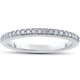 Pompeii3 1/4ct Lab Created Diamond Wedding Ring in
