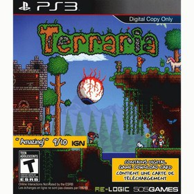 Terraria (digital game download card only) PS3 - F